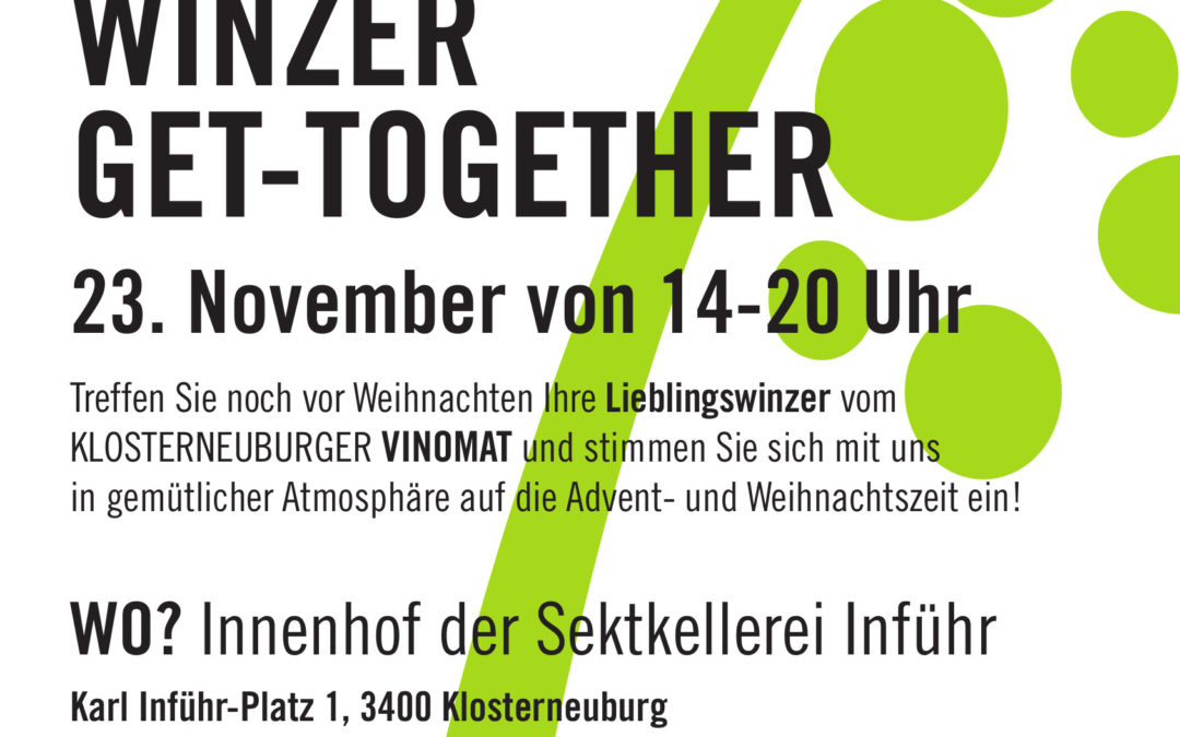 Winzer get-together